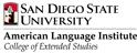 San Diego State University American Language Institute サンディエゴ州立大学 語学講習プログラム
